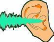 sound wave entering ear