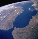 strait of gibraltar NASA