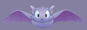 bat flying cartoon